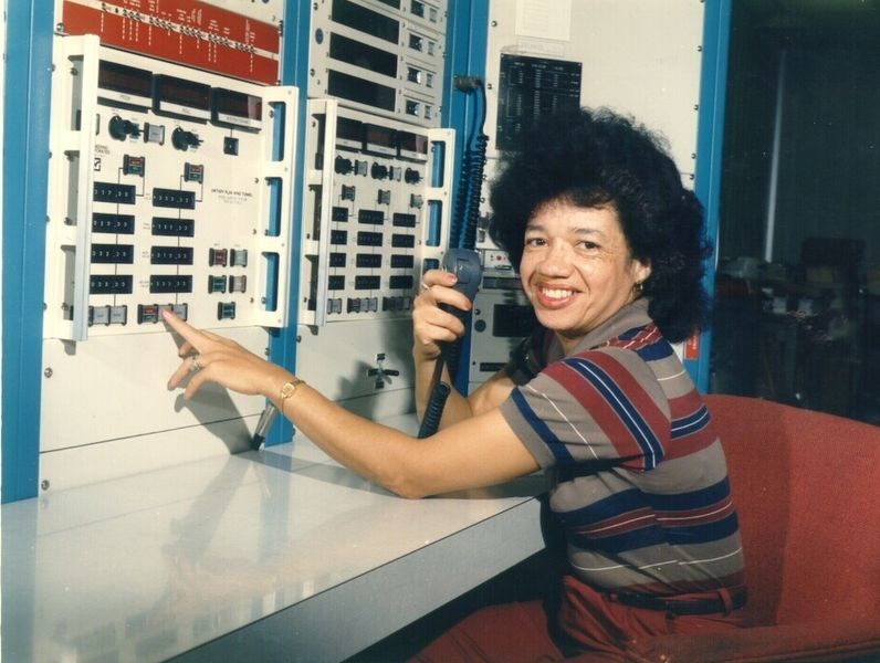 Engineer Christine Darden at NASA in the 1970s
